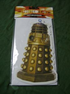 Doctor Who pack of 8 party invites..